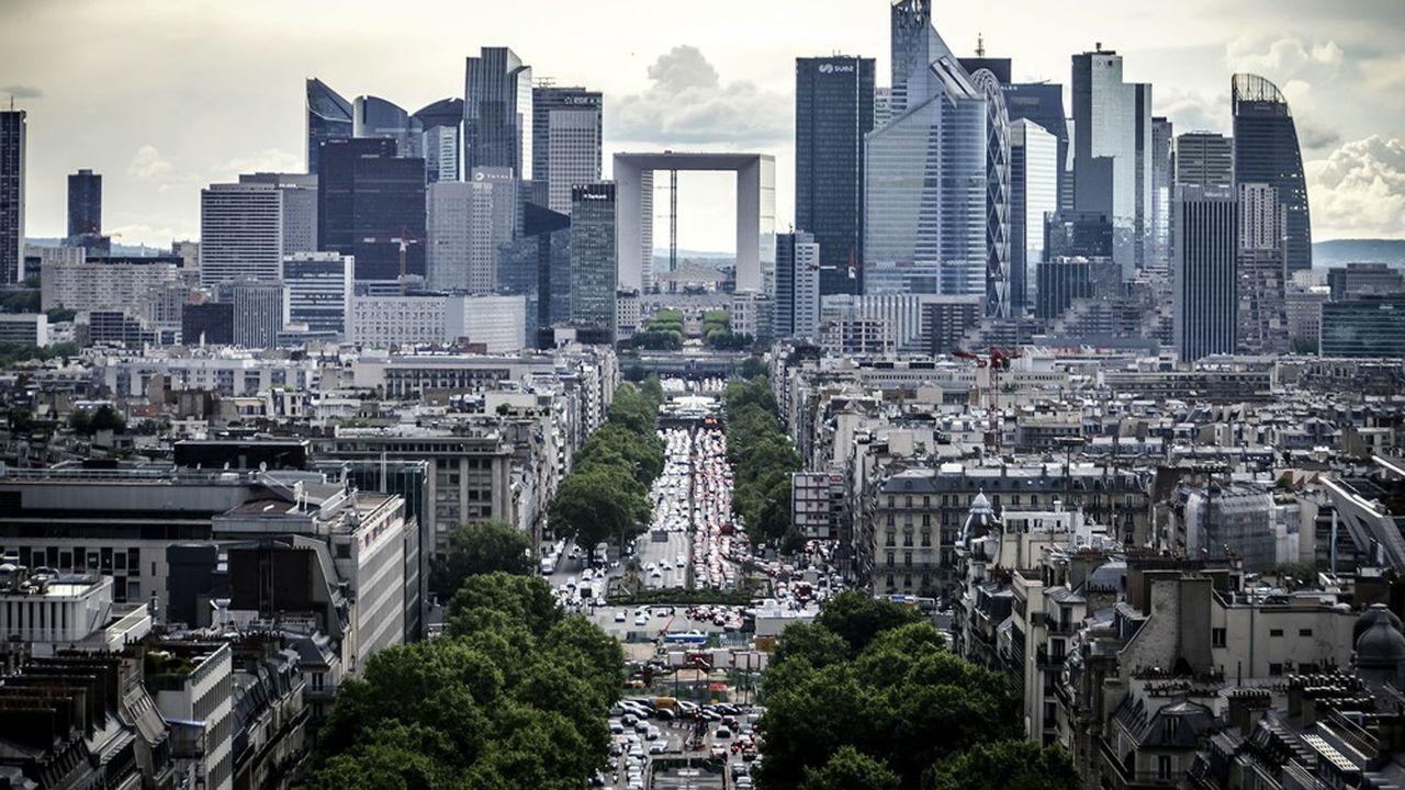 Le quartier de la Défense, à Paris.