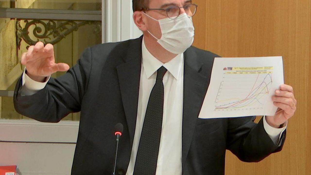 Le Premier ministre, Jean Castex, était auditionné mardi soir par la commission d'enquête sur l'épidémie de Covid-19 de l'Assemblée nationale.