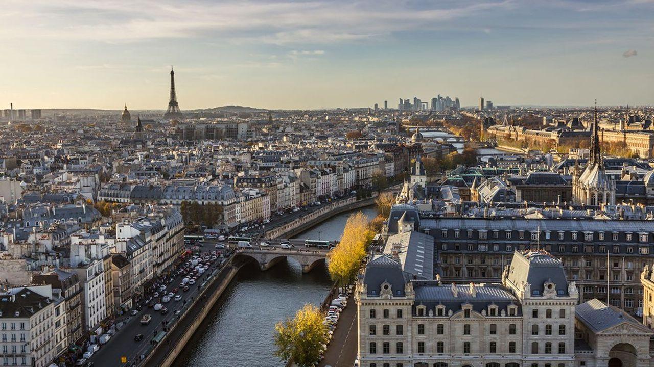Le mètre carré à Paris atteint 10.860euros selon les Notaires.