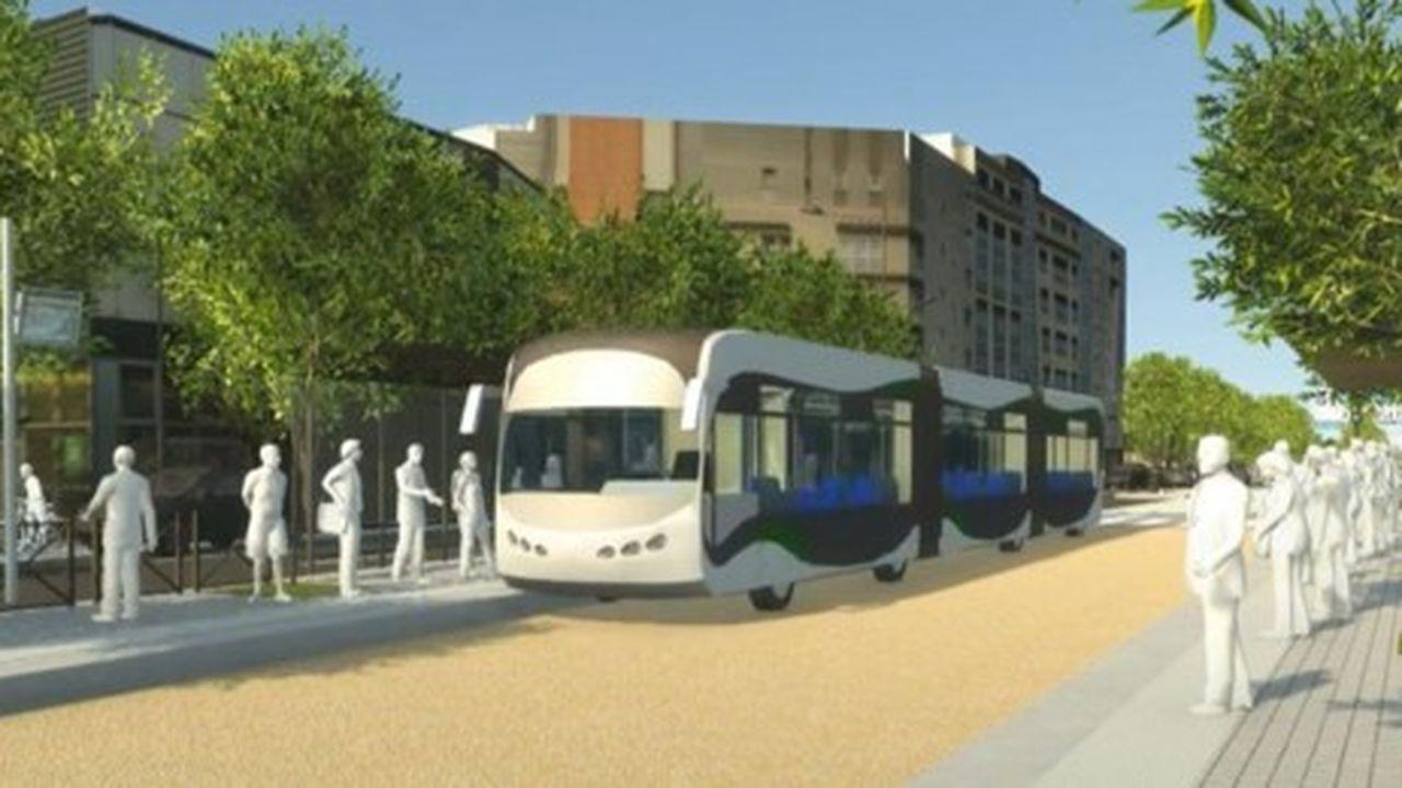La future ligne de bus qui doit desservir huit communes de Seine-Saint-Denis devrait bien être achevée d'ici 2023.