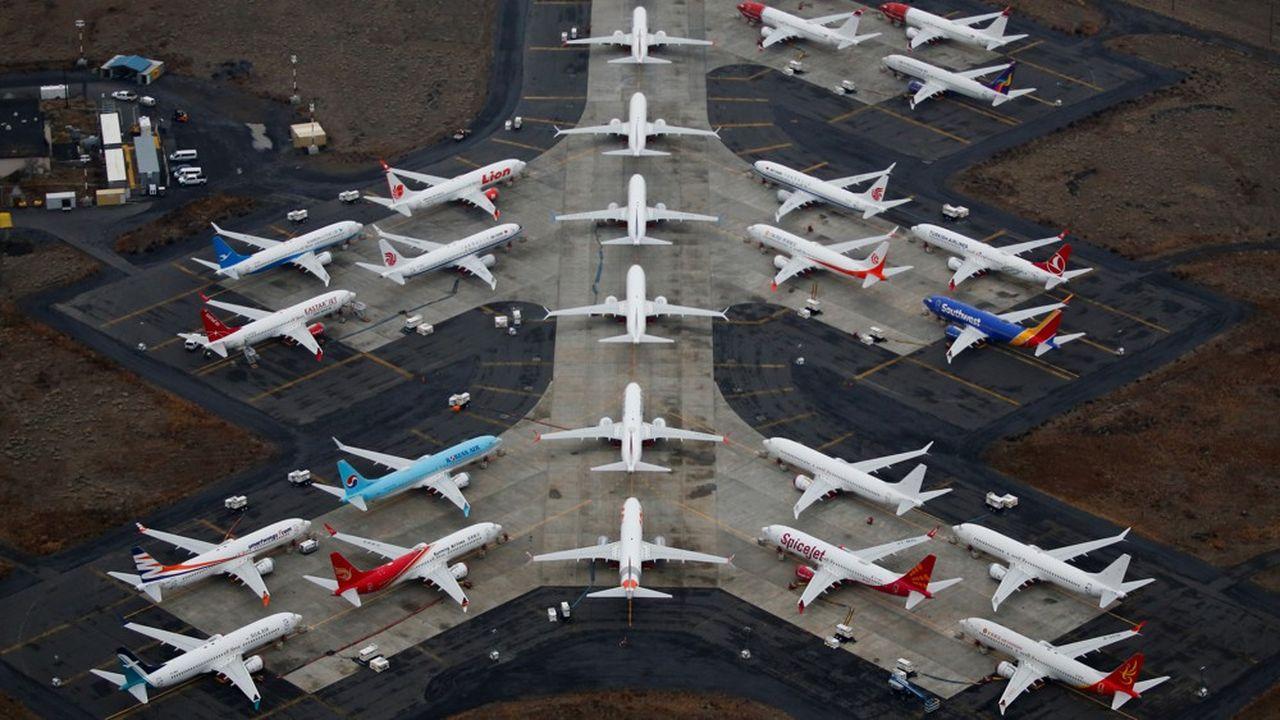 Plus de 700 Boeing 737 Max sont encore cloués au sol à travers le monde.