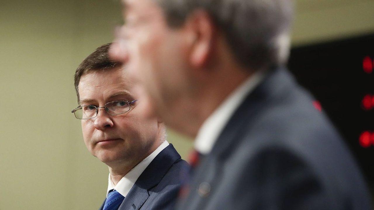 Pour Valdis Dombrovskis, vice -président exécutif de la Commission européenne, «il importe de veiller à ce que les mesures budgétaires de soutien adoptées préservent la viabilité des finances publiques à moyen terme».