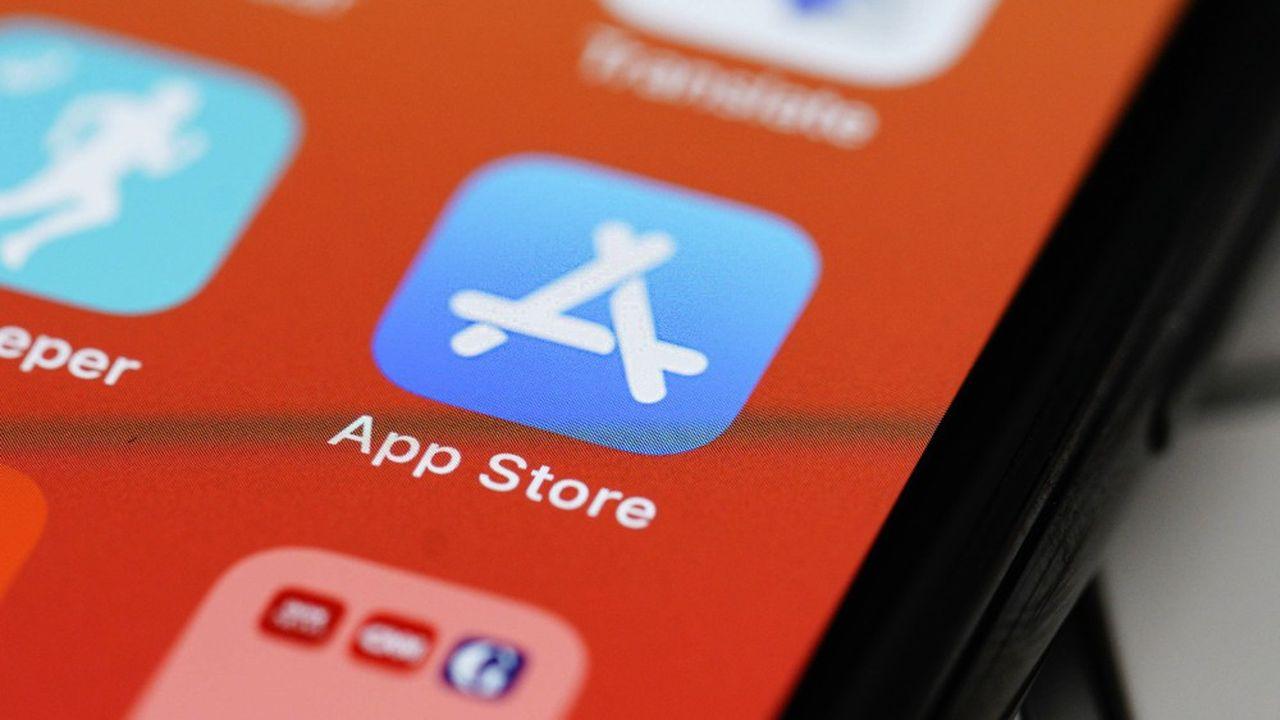 L'App Store est depuis2008 le seul magasin d'applications que peuvent utiliser les détenteurs d'iPhone et d'iPad.
