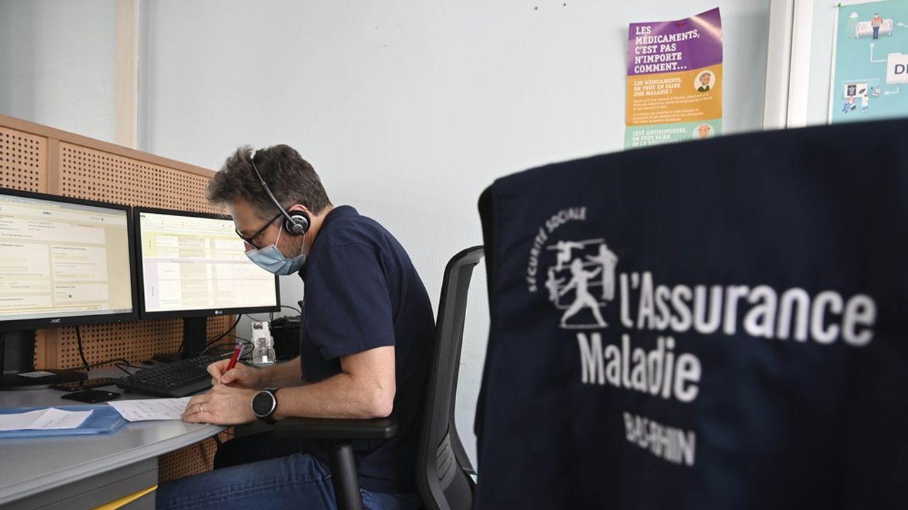 La Caisse Primaire d'Assurance Maladie (CPAM) du Bas-Rhin, en charge du «contact tracing» à Strasbourg.