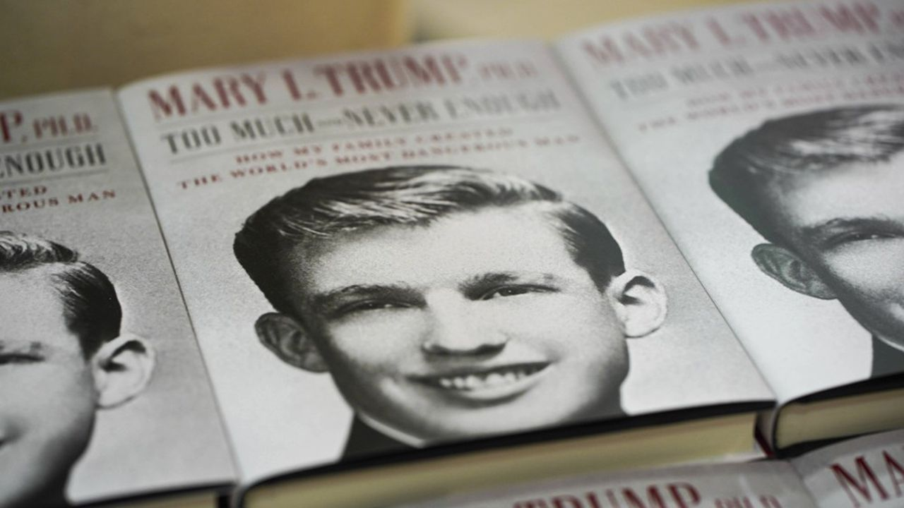 Le livre de Mary Trump «Trop et jamais assez. Comment ma famille a fabriqué l'homme le plus dangereux du monde» sur son oncle, Donald Trump, est un des grands succès récents de Simon & Schuster.