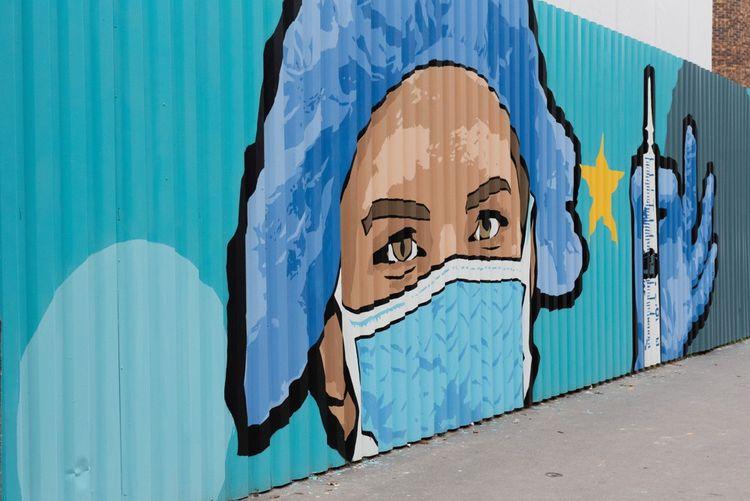 Sur le boulevard Vincent Auriol, à Paris.