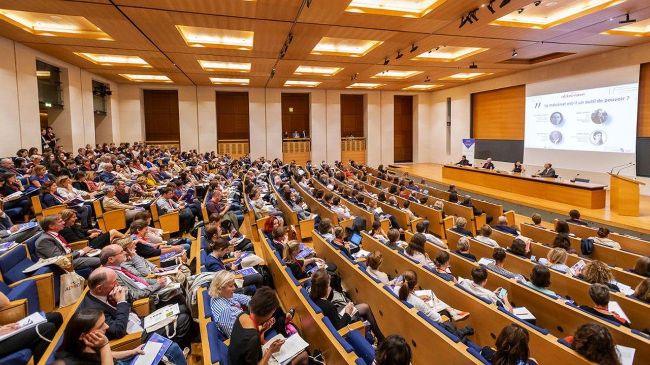 Le Mécènes Forum, l'an dernier, avait fait le plein au Collège de France. Cette année, il sera en virtuel.