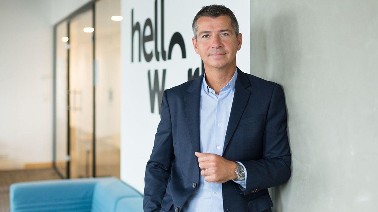 François Leverger, directeur général de HelloWork, place la satisfaction de ses clients, particuliers comme entreprises, au coeur de sa stratégie.