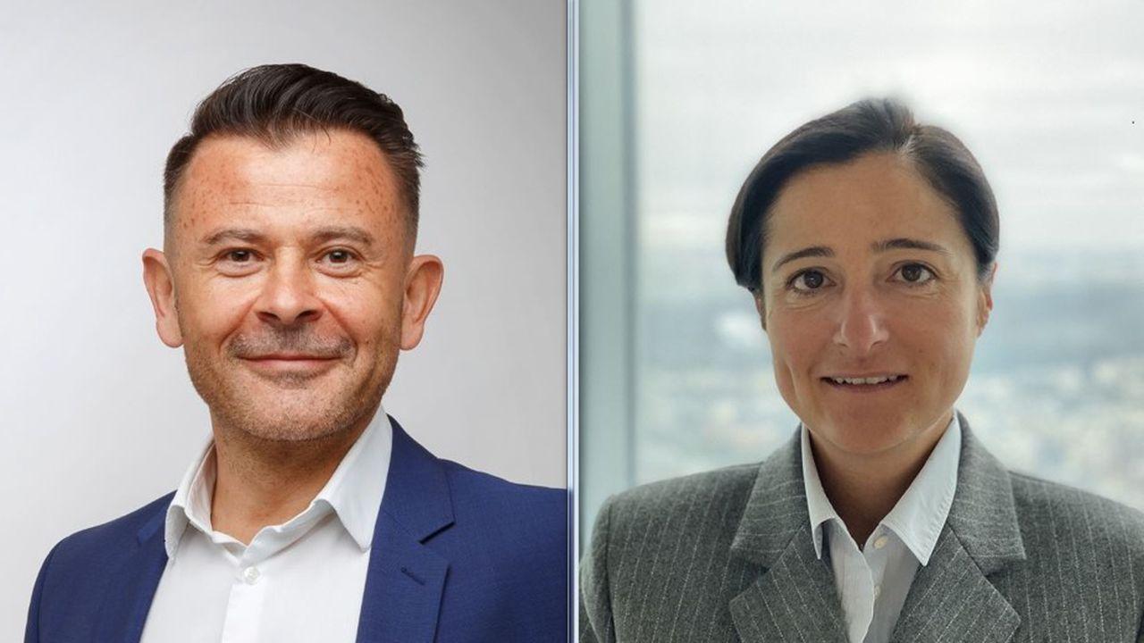 Olivier Rozenfeld, patron de Fidroit, et Virginie Fauvel, à la tête de Harvest, compte multiplier par deux la taille de la nouvelle entité d'ici 2025.