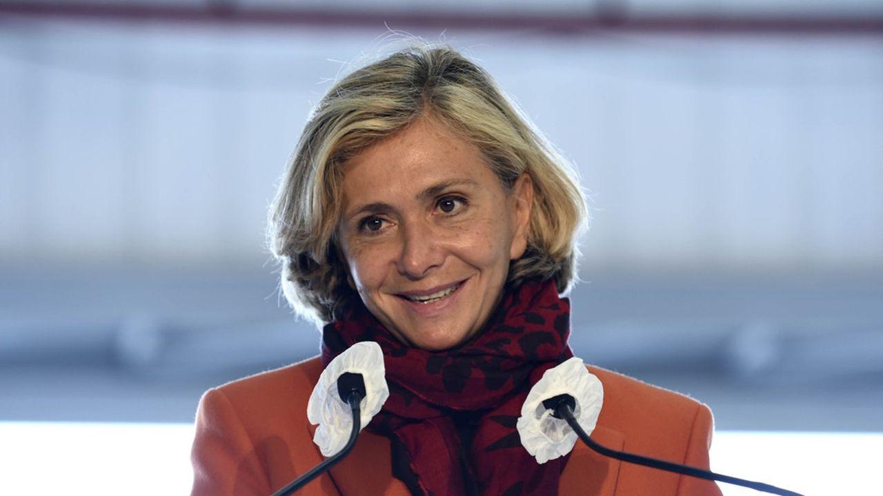 La présidente de la Région Ile-de-France, Valérie Pécresse.