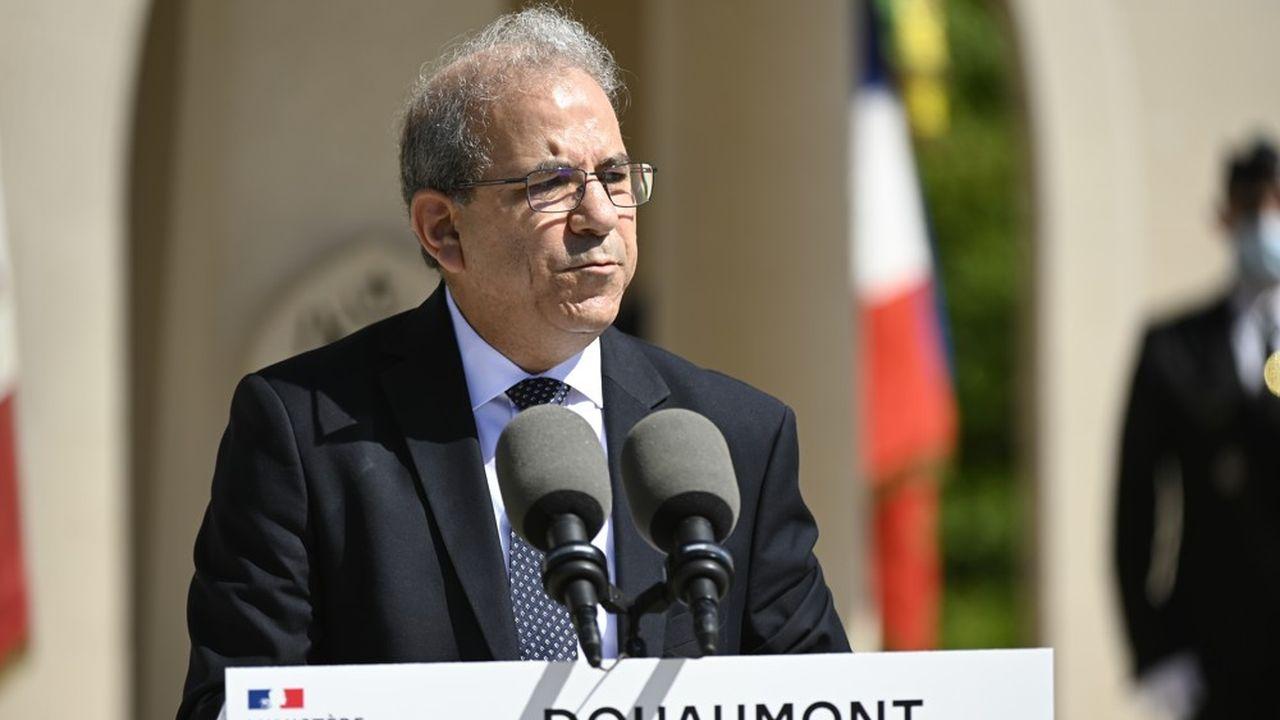 La charte présentée par le CFCM (photo: son président, Mohammed Moussaoui) devra affirmer la reconnaissance des valeurs de la République, préciser que l'islam en France est une religion et pas un mouvement politique, et stipuler la fin de l'ingérence ou de l'affiliation à des Etats étrangers.
