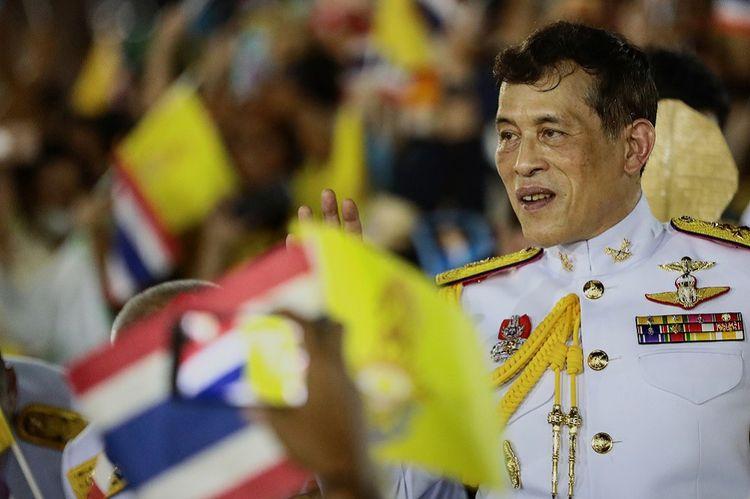 Le roi Rama X lors de sa dernière apparition publique le 1ernovembre.
