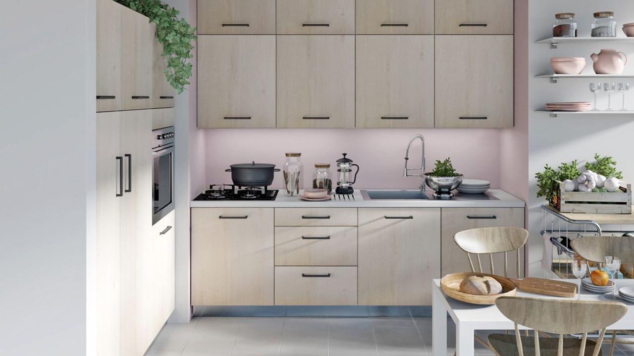 Hygena est positionné sur le segment des cuisines prêtes-à-monter, qui représente 53% en valeur des cuisines intégrées vendues en France