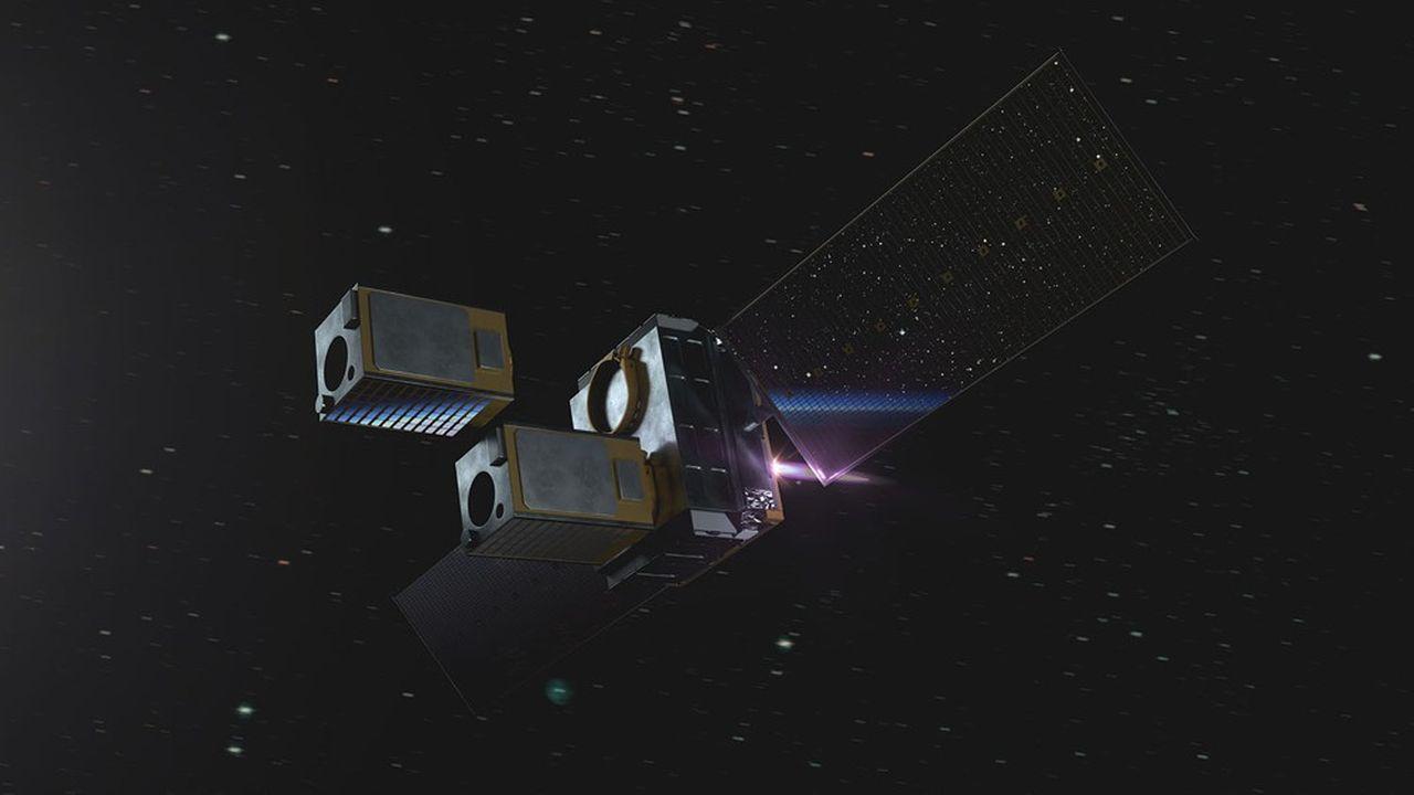 Le module créé par Momentus assure la livraison des satellites dans le dernier kilomètre de leur mise en orbite. A terme, il pourra les ravitailler ou les nettoyer.