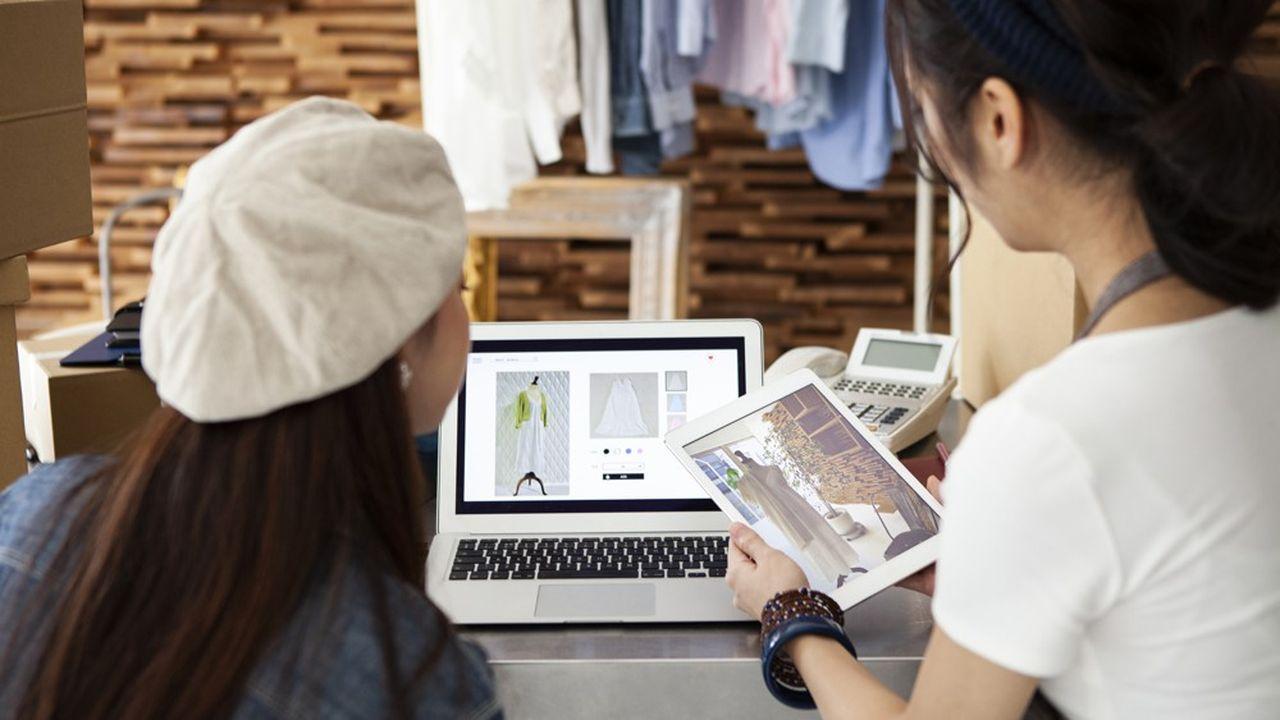 Seulement 27% des TPE-PME du secteur du commerce vendent en ligne, d'après Eurostat.