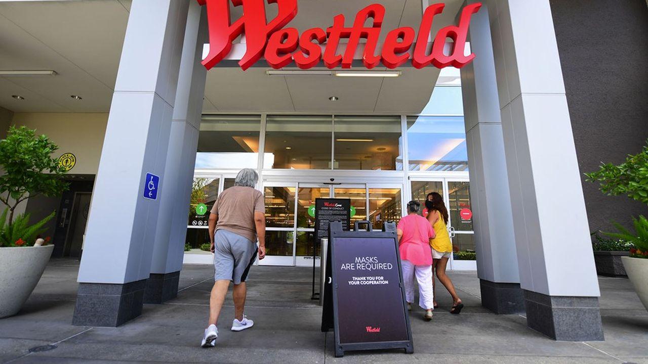 Un centre commercial d'Unibail-Rodamco-Westfield à Arcadia, en Californie.