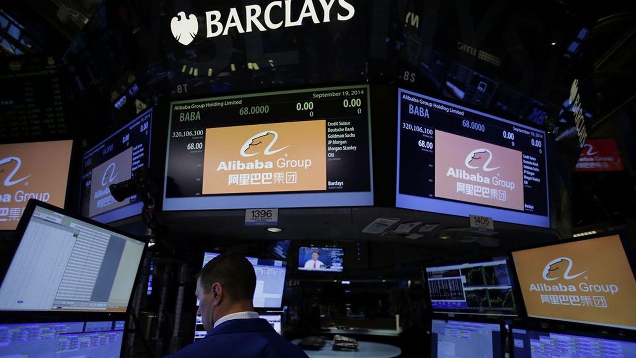L'introduction d'Alibaba sur le NYSE en 2014a été l'une des plus grosses opérations de ces dernières années.