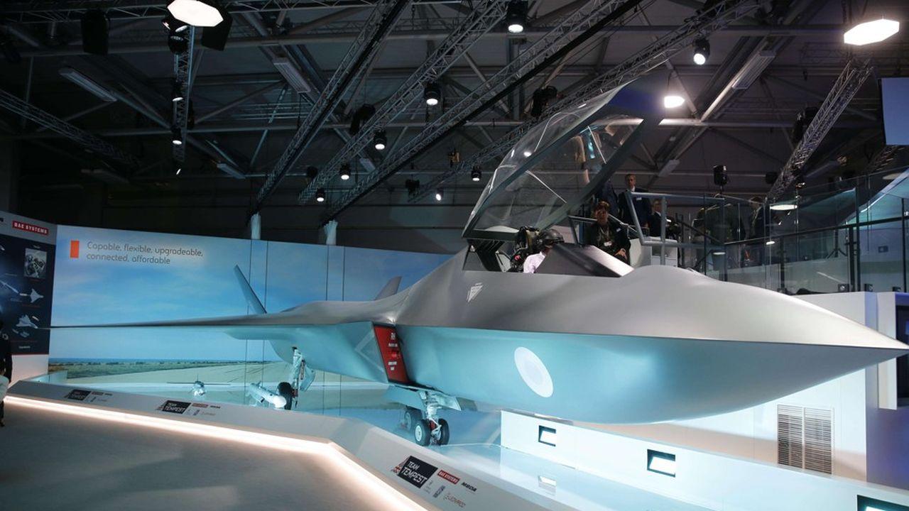 Une enveloppe de 1,5 milliard de livres est prévue pour la recherche et le développement, en particulier sur le programme d'avion de combat britannique, Tempest.