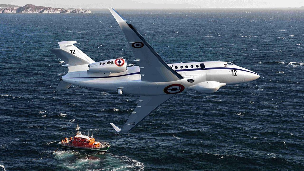 Dassault vend des Falcon de surveillance maritime en France, au Japon et aux Etats-Unis