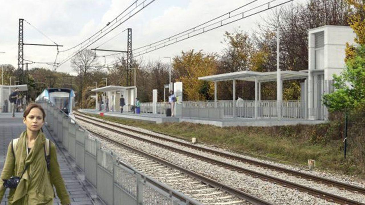 Cette ligne reliera les deux villes les plus importantes de l'Essonne: Evry-Courcouronnes et Massy