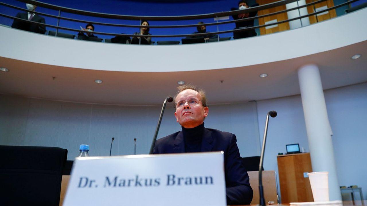 L'ancien directeur général de Wirecard, Markus Braun, est resté impassible jeudi au Bundestag, refusant de répondre aux questions des députés allemands.