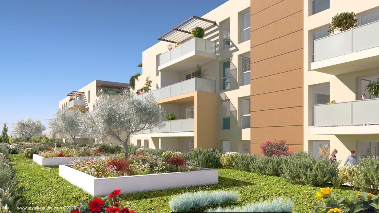 Le programme immobilier Rythmic à Nîmes est porté par le promoteur Cogedim.