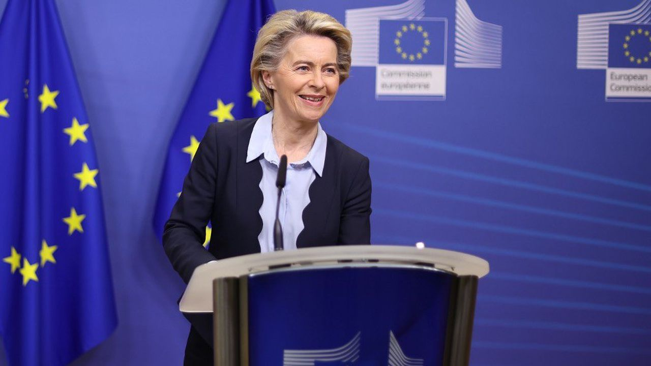 Ursula von der Leyen s'est exprimée jeudi à l'issue d'une réunion consacrée à la pandémie de Covid-19.