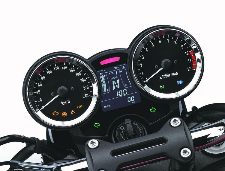 La Kawasaki Z900 RS.