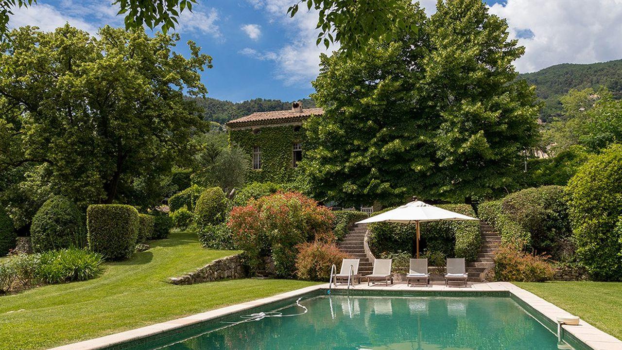 Une demeure près de Grasse pour 4,45 millions d'euros.