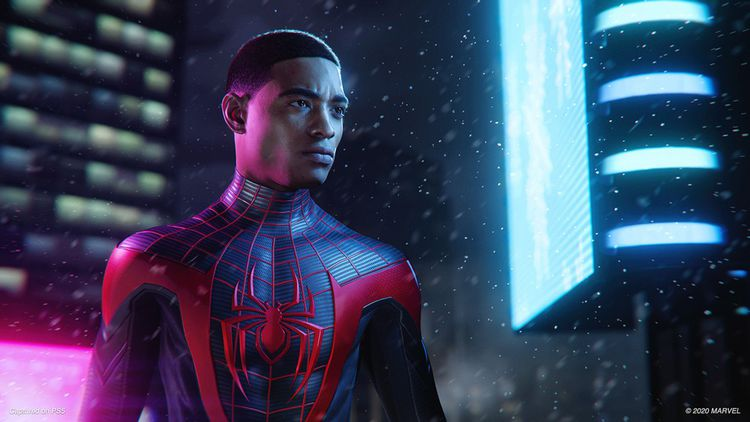 Nouveau héros à endosser le costume de l'homme-araignée, Miles Morales dispose de nouveaux pouvoirs dans un jeu d'action survitaminé.