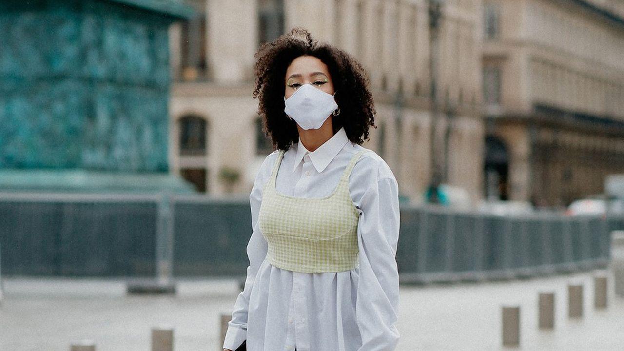 Pour la fashion week Paris, en septembre, le masque est de rigueur…