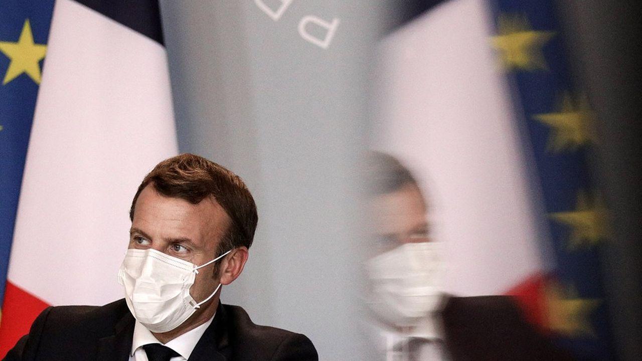 Emmanuel Macron, président de la Republique