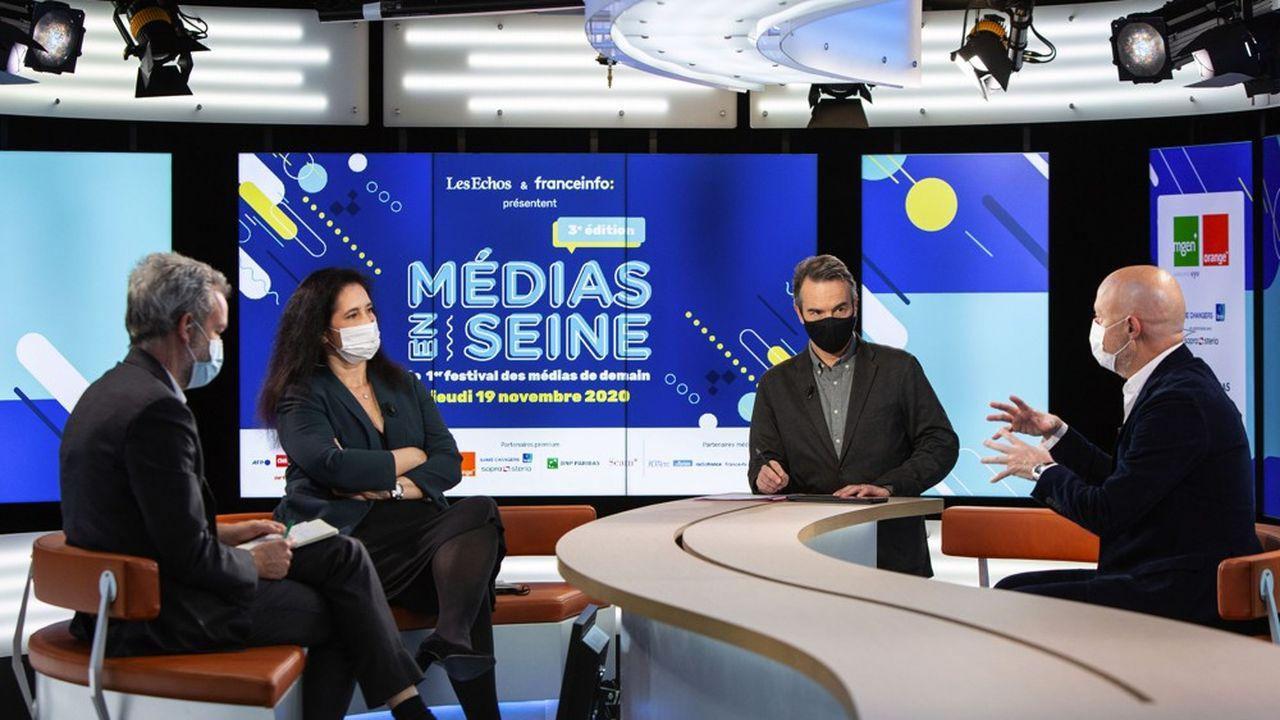 Médias en Seine, le festival des médias de demain, organisé par «Les Echos» et Franceinfo.