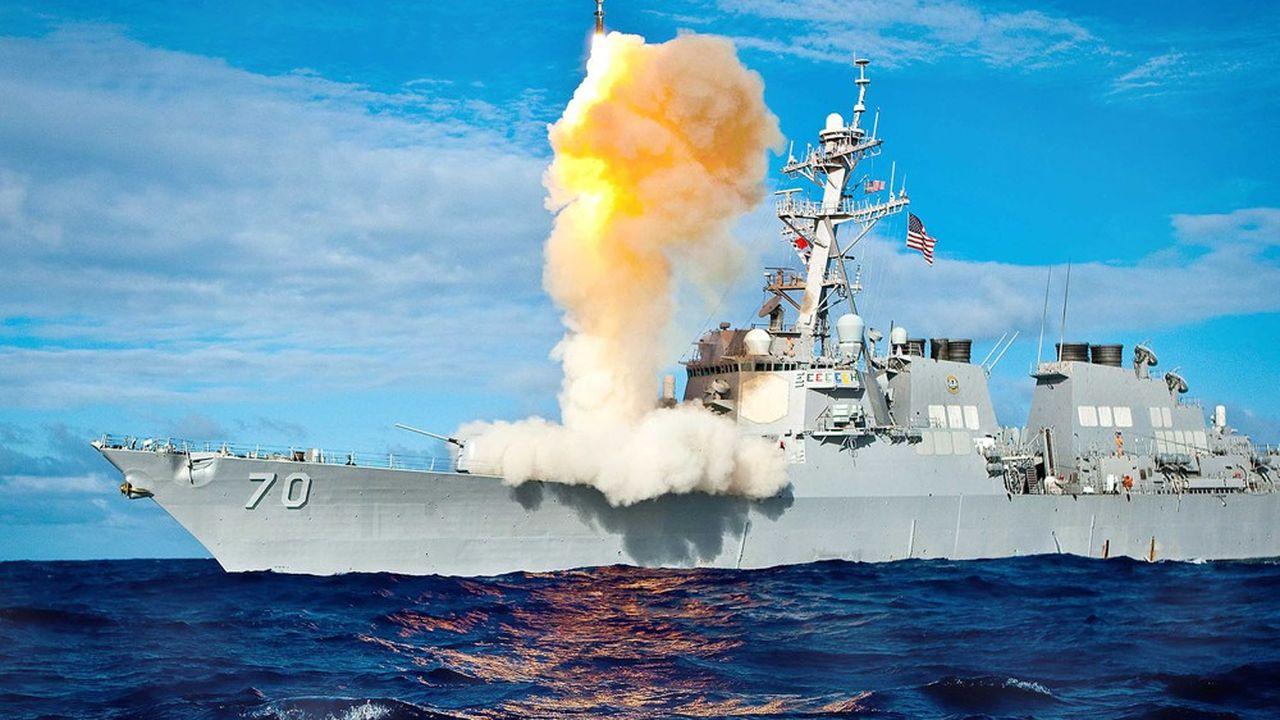 Pour la première fois, les Américains ont effectué un test d'un intercepteur de missiles balistiques intercontinental depuis un destroyer croisant dans le Pacifique.
