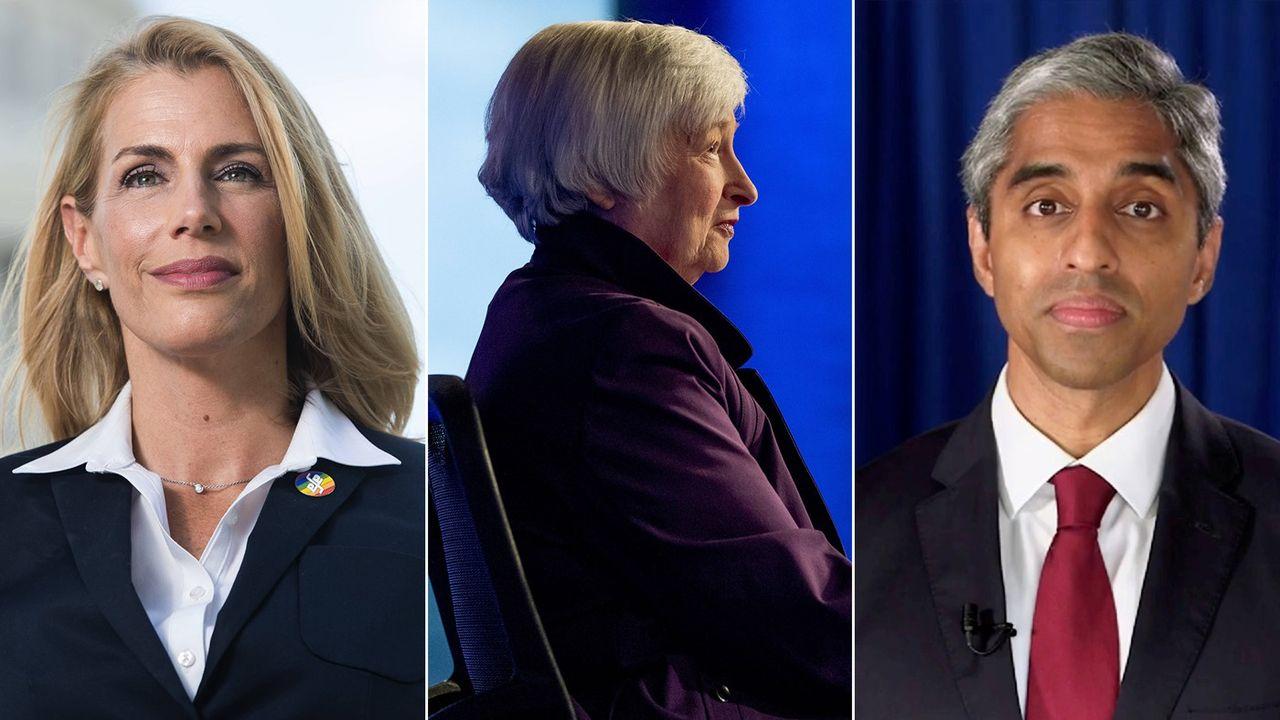 Sara Nelson pourrait hériter du portefeuille du Travail, Janet Yellen pourrait atterrir au Trésor et Vivek Murthy pourrait devenir secrétaire à la Santé.