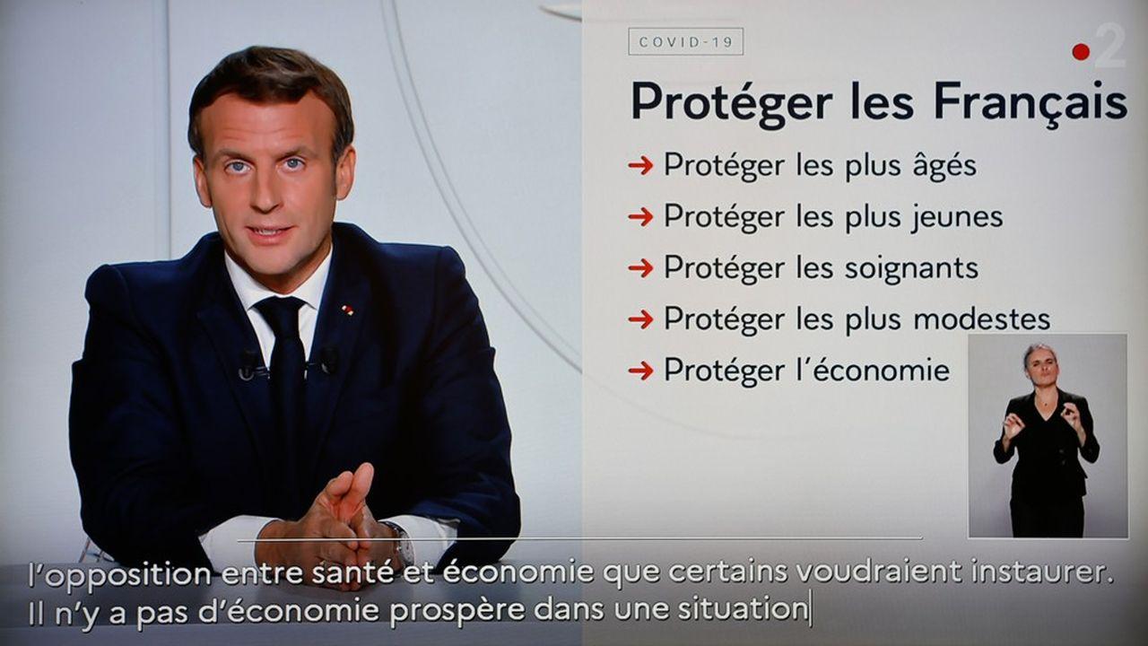 Le chef de l'Etat s'adressera aux Français sur la suite du confinement ce mardi à 20heures lors d'une allocution télévisée, a annoncé vendredi l'Elysée.