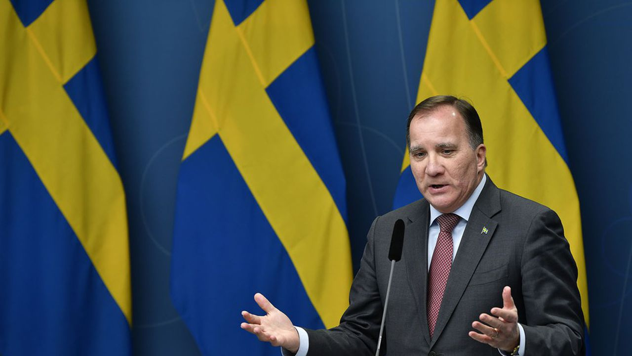 Le Premier ministre suédois, Stefan Lofven, devait, dimanche soir, s'adresser pour la seconde fois à la nation depuis mars.