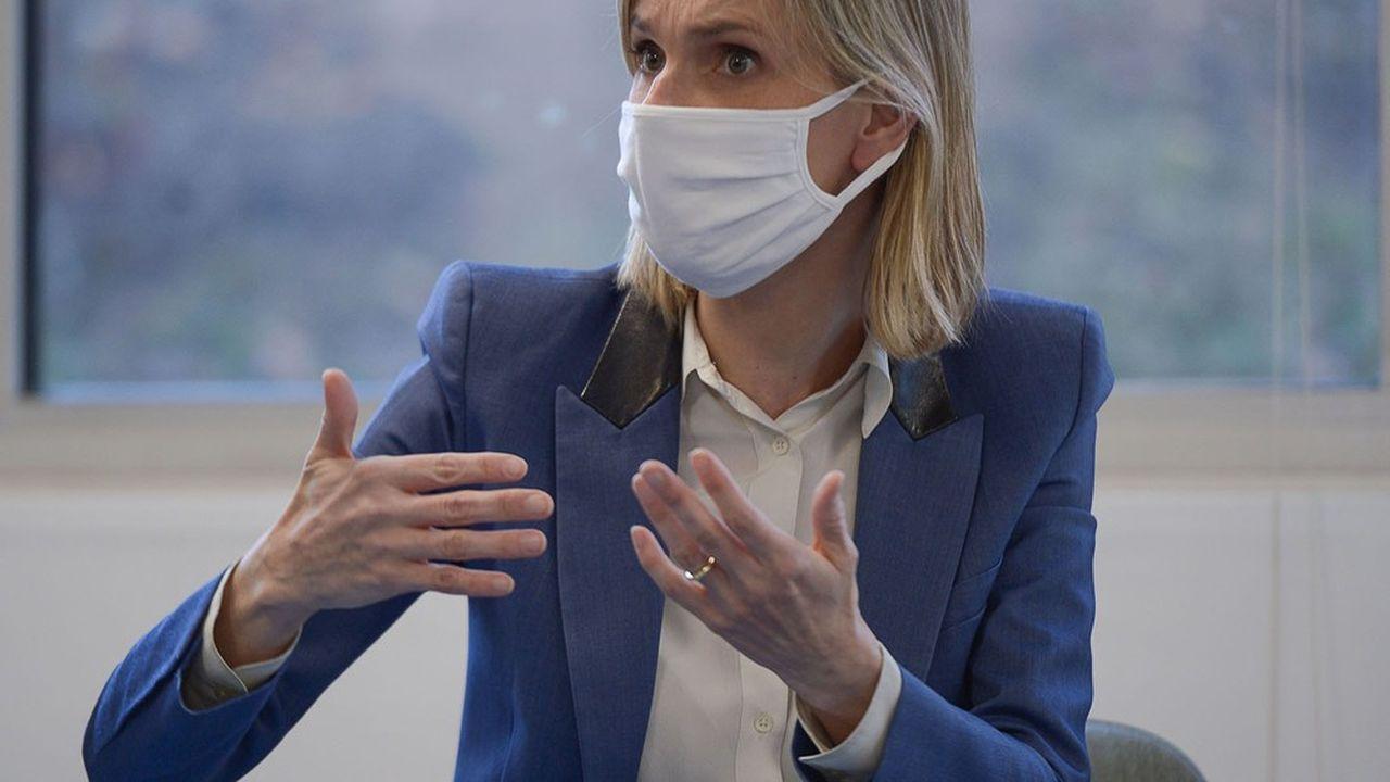 La ministre déléguée à l'Industrie Agnès Pannier-Runacher a été chargée de négocier l'achat de vaccins pour la France.