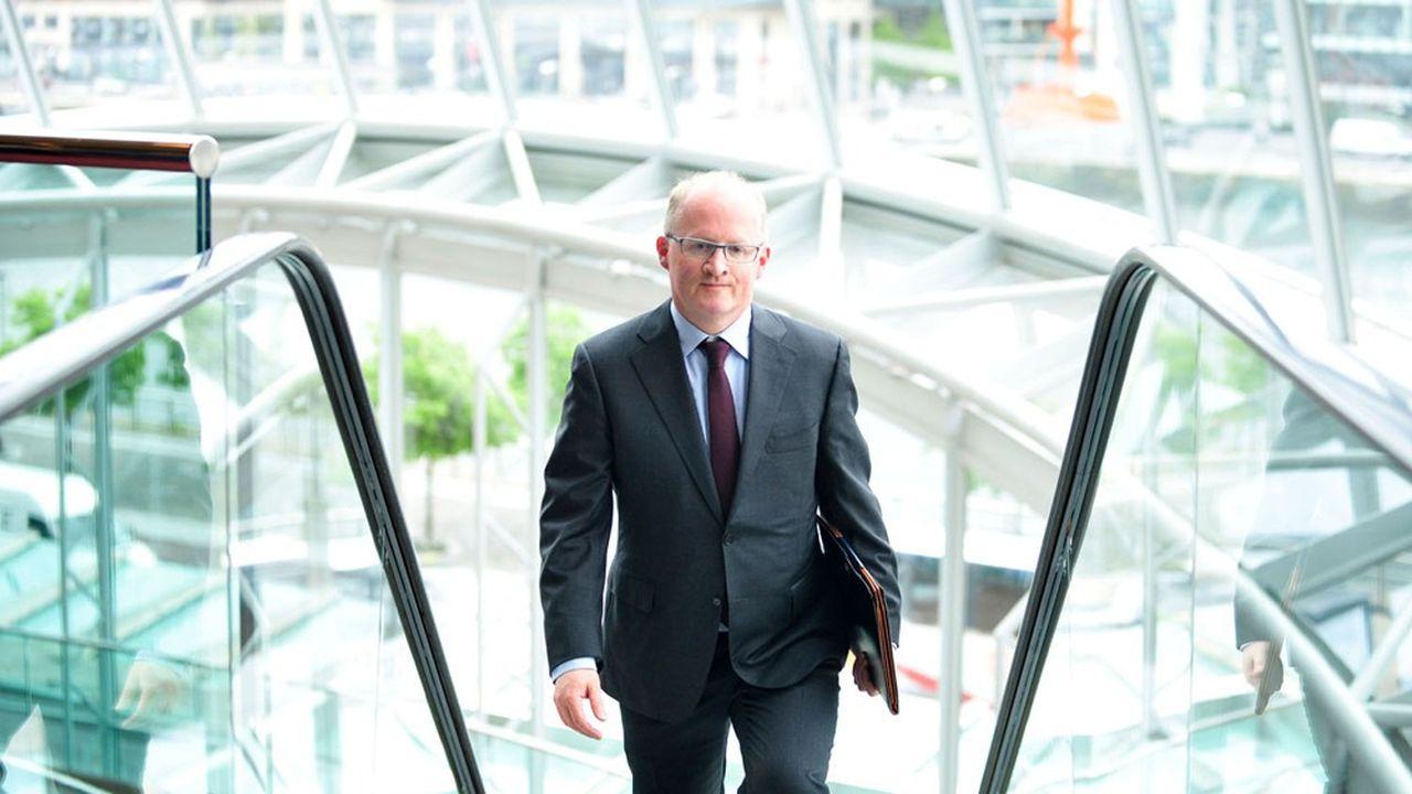 Philip Lane, chef économiste de la Banque centrale européenne