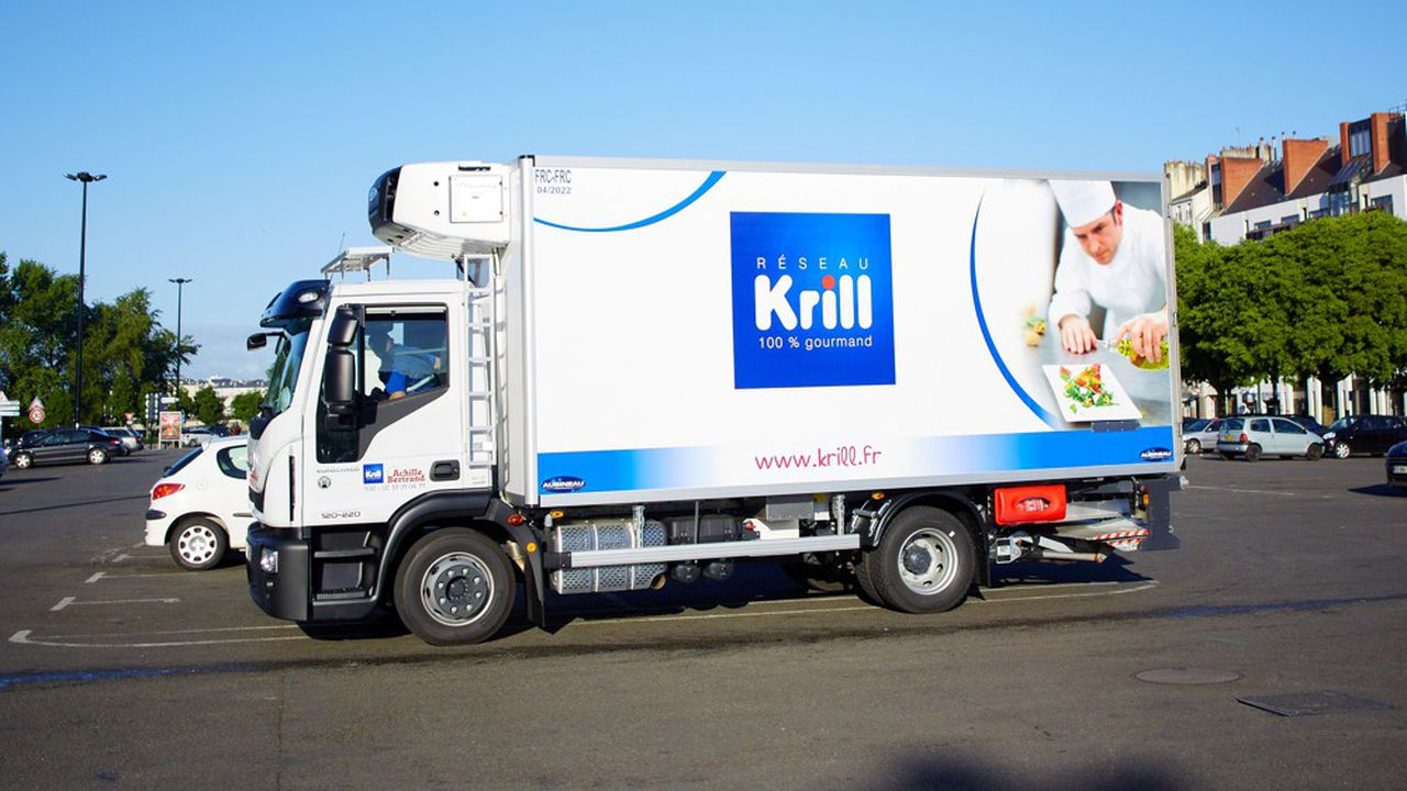 Le groupe, qui répartit ses activités entre une vingtaine de sociétés - réseau nommé «Krill»-, a nettement revu à la baisse ses livraisons aux restaurants.