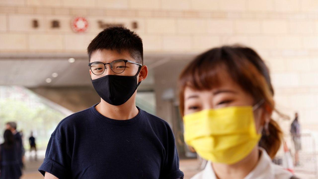 Le militant pro-démocratie Joshua Wong plaide coupable — Hong Kong