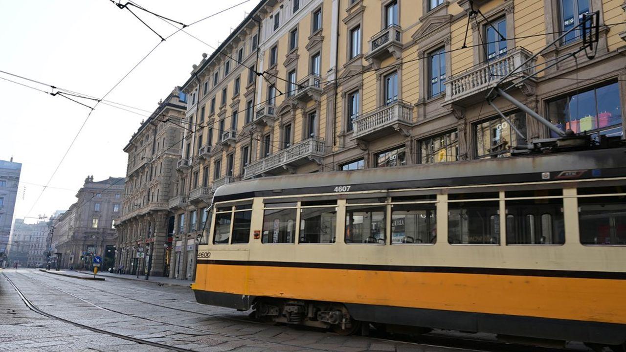 Les mesures de confinement ont contribué à améliorer la qualité de l'air à Milan.