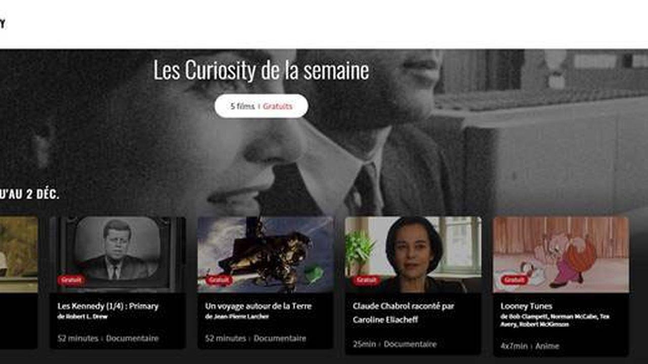 MK2 Curiosity se dit «garantie sans algorithmes» de recommandation.