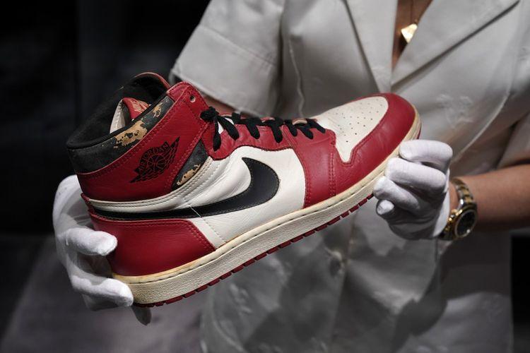 Une paire d'Air Jordan 1.