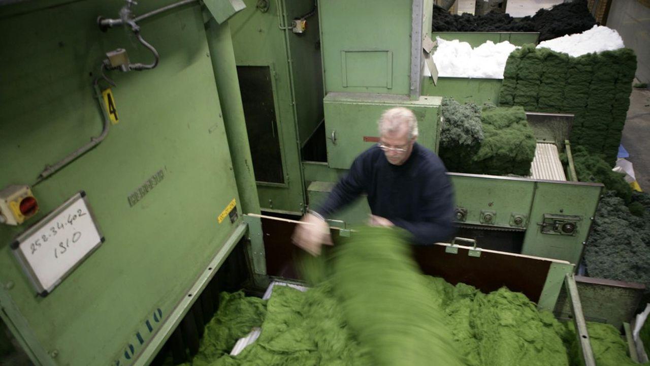 Le process de fabrication des moquettes Interface a été revu. Place aux produits biosourcés et au recyclage des déchets.