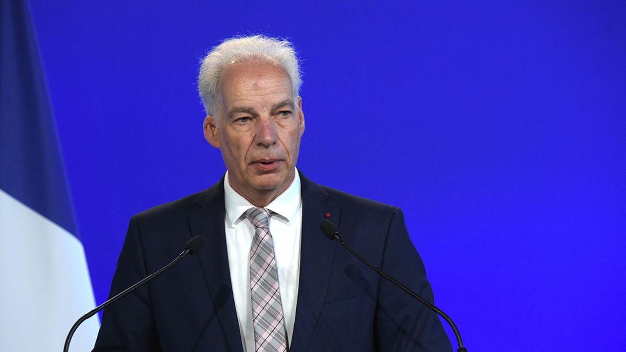 Nommé en juillet dernier au gouvernement, Alain Griset est en première ligne pour gérer la colère des PME suite à la décision de reconfiner.