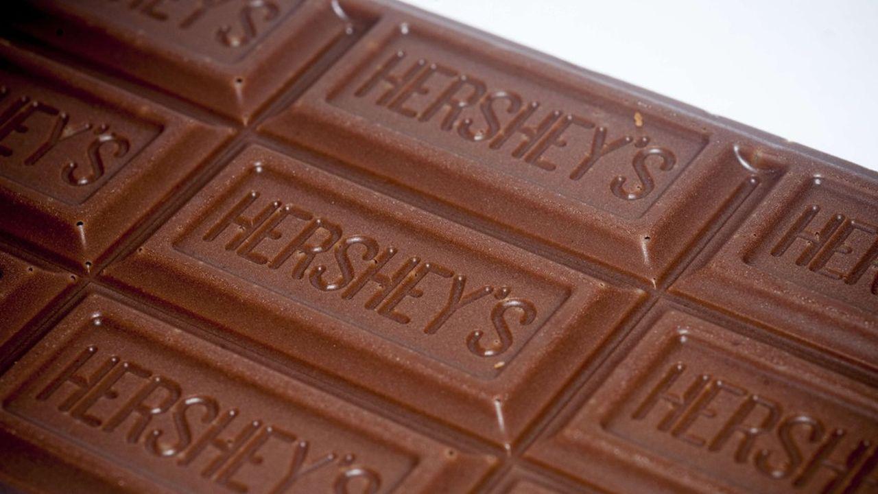 Le confiseur américain Hershey serait à l'origine d'un bond des cours du cacao sur les marchés à New York.