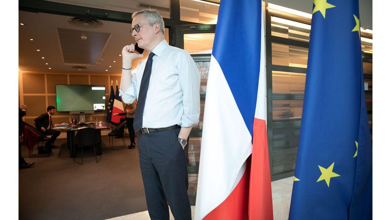 C'est Bruno Le Maire, en déplacement à Reims avec le Premier ministre, qui a annoncé le doublement du plafond des aides aux entreprises fermées administrativement.