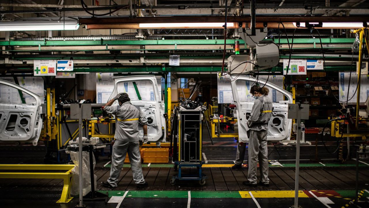 L'usine de Flins, dans les Yvelines, a produit 160.000 voitures en 2019.