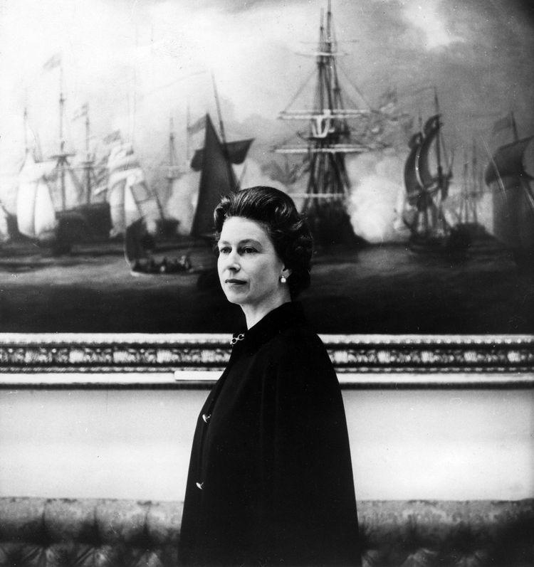 La reine Elizabeth II à Buckingham Palace, en 1969.